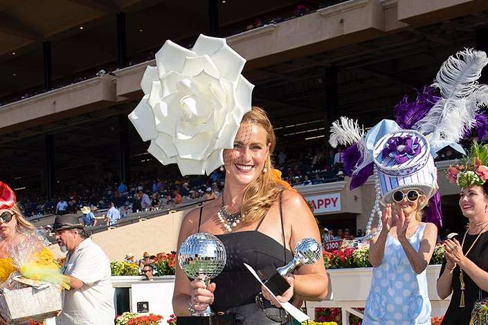 Photo of Spectacular White Bloom Wins Grand Prize in 25th Annual Hats Contest