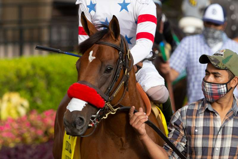 "Photo of ""Secret"" Vs. ""Lady"" Saturday in Del Mar's John C. Mabee"