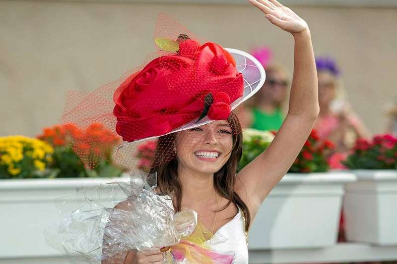 Photo of Del Mar Opening Day Hats Contest