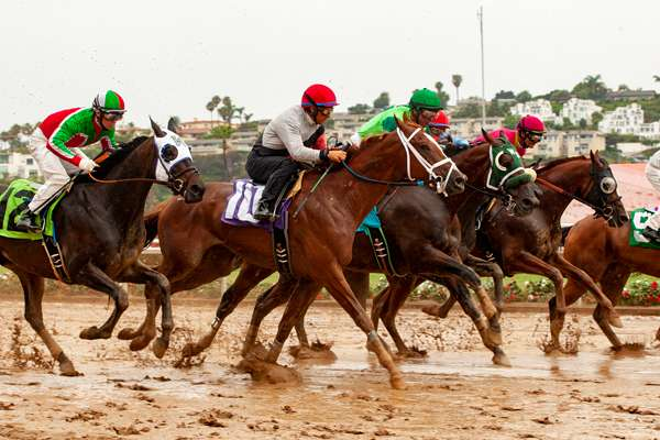 Photo of Del Mar Won't Race Next Thursday with Wet Weather Likely