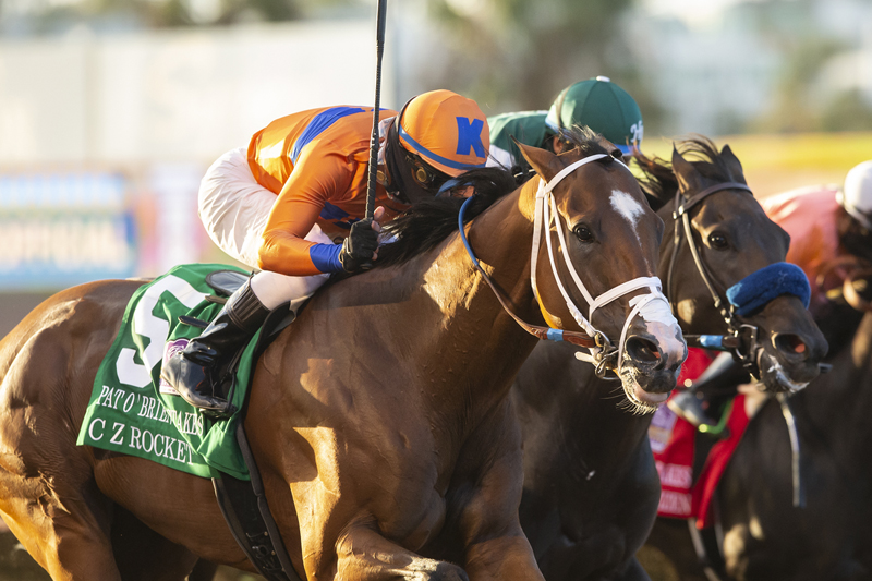 Photo of C Z Rocket Home First in Saturday's Pat O'Brien