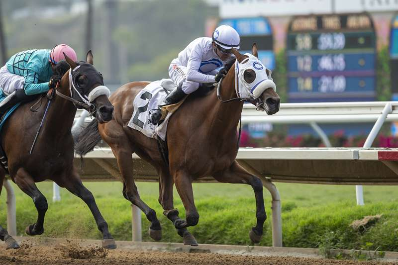 Photo of At the Spa Finds Room on Rail to Get Up in Thursday's CTBA Stakes