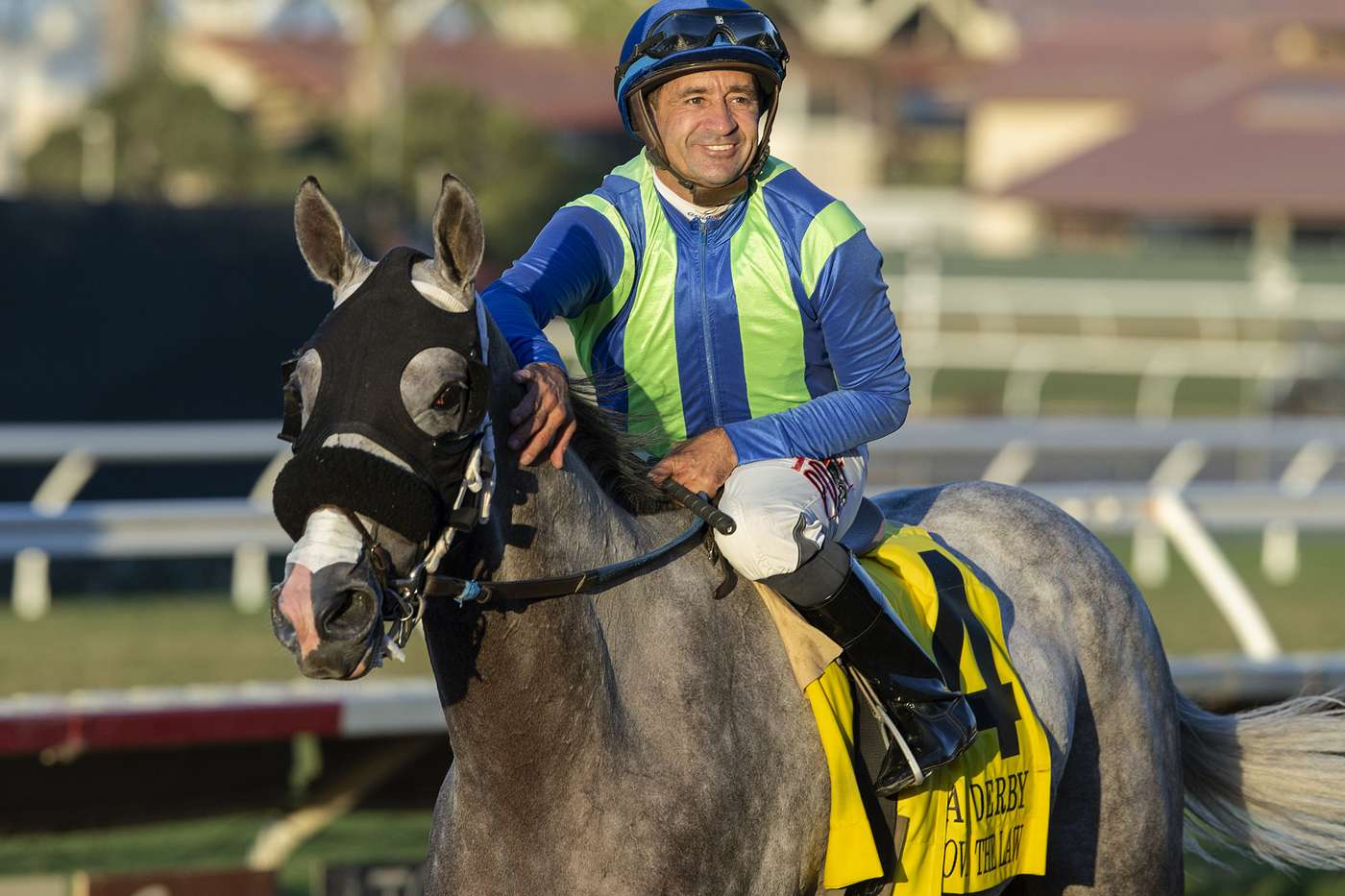 Photo of None Above the Law Rallies to Take Caesars Sportsbook Del Mar Derby