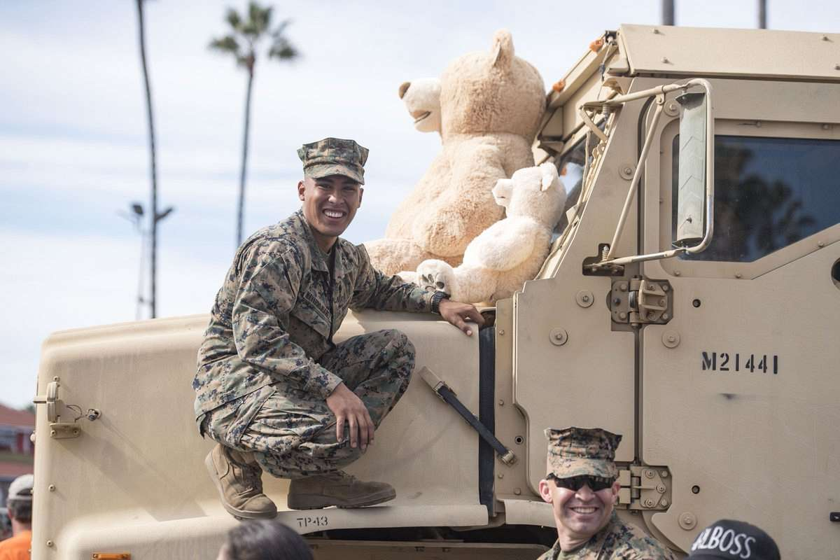 "Photo of ""Toys for Tots"" Program, Event Back at Del Mar This Sunday"