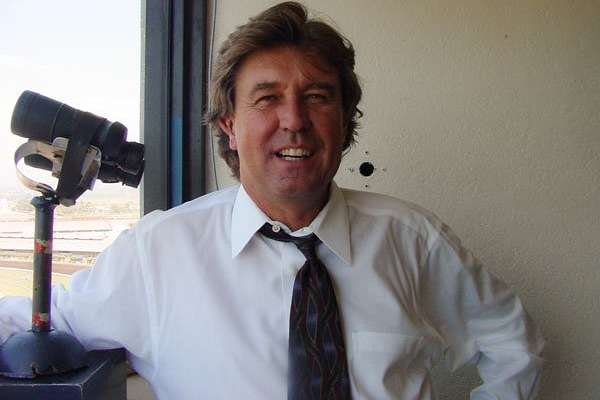 Photo of Trevor Denman to Return to his Booth at Del Mar this Summer
