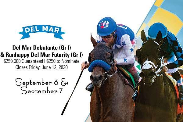 Photo of Nominations Close June 12 for Del Mar Debutante, Futurity