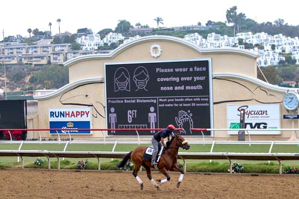 Photo of 2020 at Del Mar - Its Team Steps Up to Face Huge Challenges