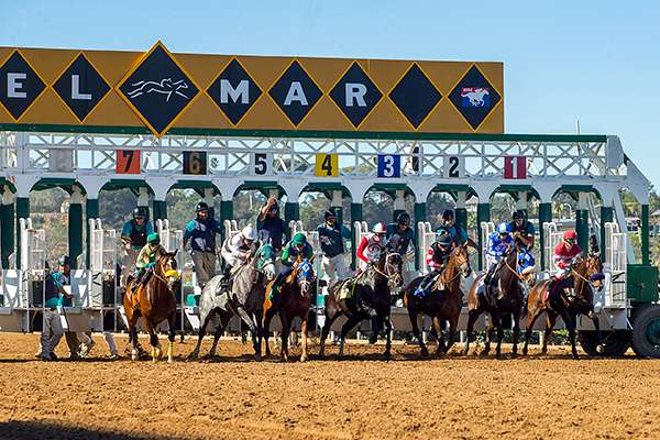 Photo of Seventh Del Mar Fall Race Meeting Off and Running Saturday