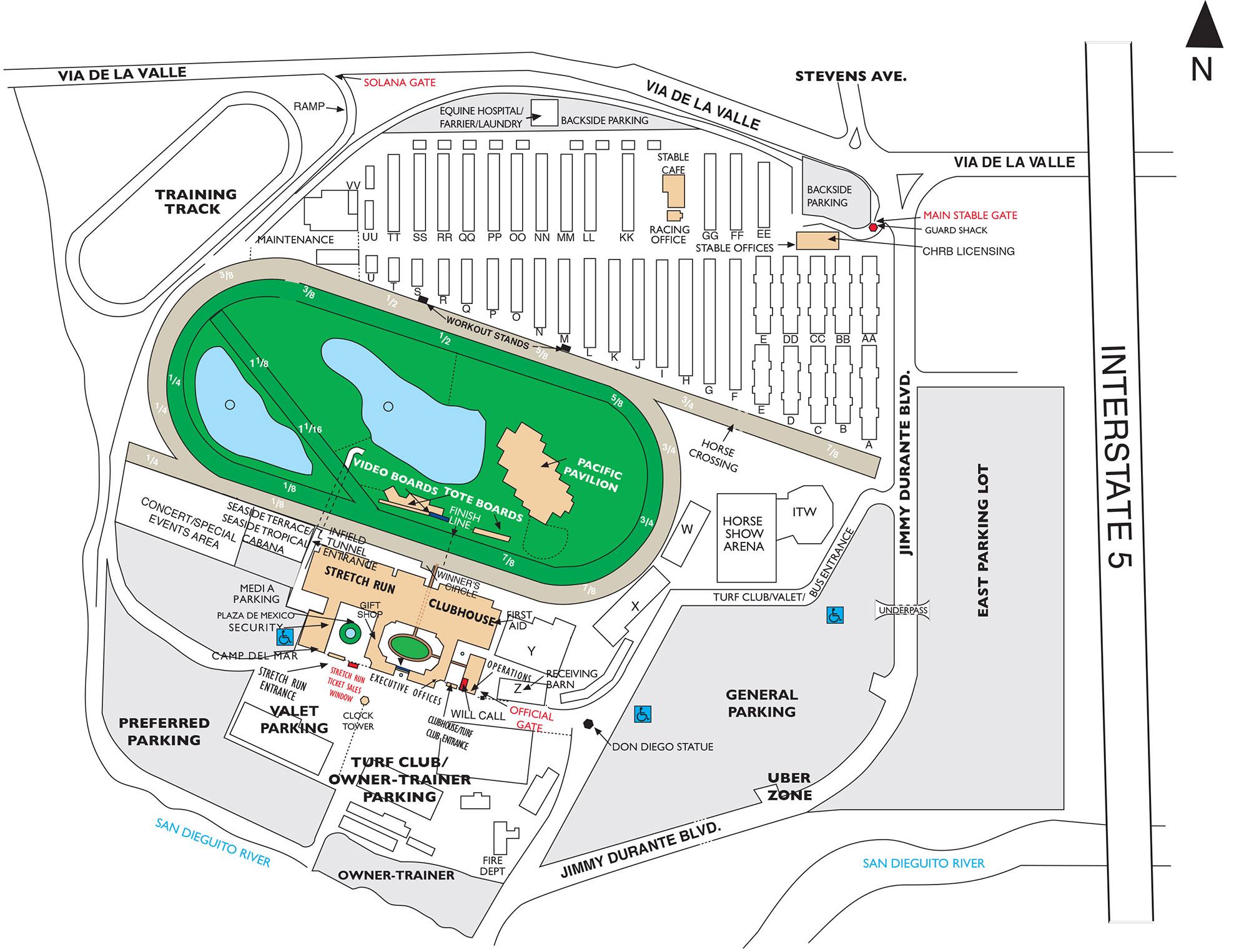 DMTC Grounds Map